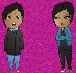 New Chibi Style by xPanicxLovex