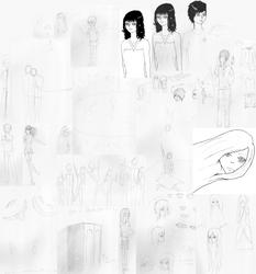Summer Sketchbook by xPanicxLovex