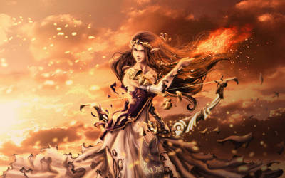 Brawling Princess by Twilit-Arawen