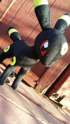Umbreon plush! by PollyRockets