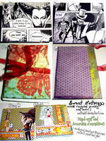 Accordian Folded journals 3 by muffinelf
