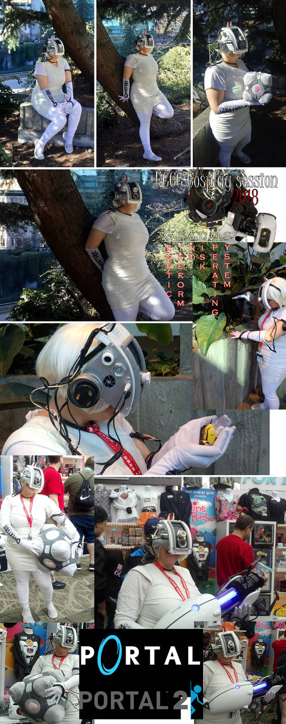 Portal Cosplay dump #1 ( G.l.a.D.O.S. ) by muffinelf