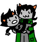 nepeta lifts up karkat by tentabrobpy