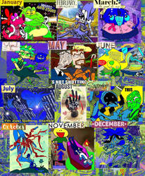 Year in Review 2018 by tentabrobpy