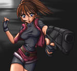 RE 2 claire by mauroz