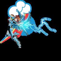 FM: rainbow: Valkyrie Lightning by mauroz