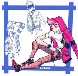 Character Sheet: Kei Aubre by Greendown
