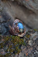 Labradorite Ring Oval Shape by Egarimea