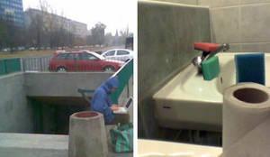 Urban sponges by wodny