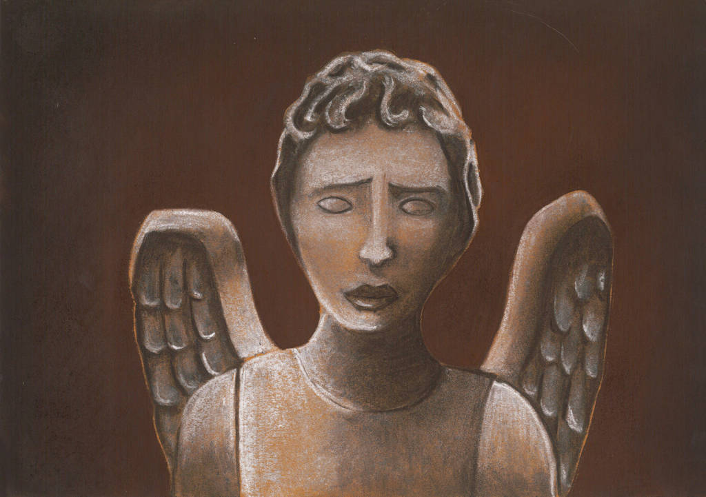 Weeping Angel by Chiones