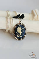 Pip the Pixie Cameo necklace by airymilu