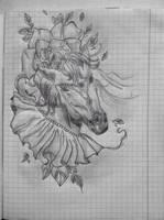 Flowerhorse by Lime-Sun