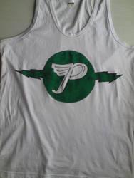 Pixies Shirt. Green Logo by Lime-Sun