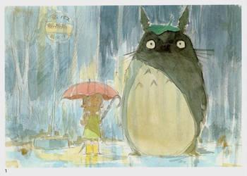 Rainy Day Encounter by Lime-Sun