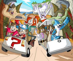 Golf Kart Race! by Jhonny-Manic