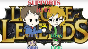 League Supportz by Keilanify