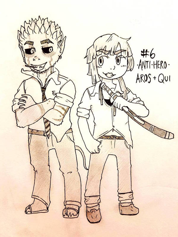 OC-tober Day 6: Anti-Heroes by Keilanify
