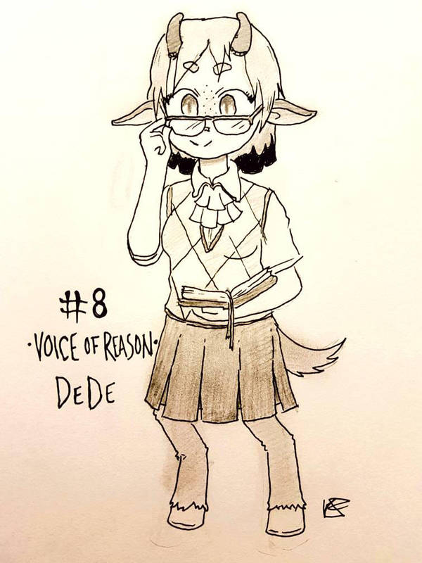 OC-tober Day 8: Voice of Reason by Keilanify