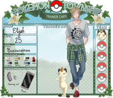 PokemonTownship: Elijah by Ayanica