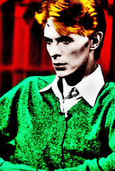 David Bowie Pop Art by cloneux1