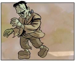Green Frankenstein by mistertheriault