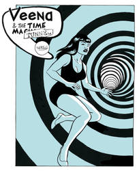 Veena in the time Tunnel by mistertheriault