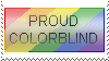 Stamp proud Colorblind by newbie0093