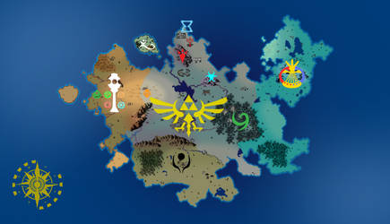 Calatia Map (Territories and Icons) by Electronic-Ink-0