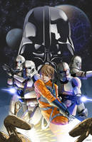 Star Wars Idylls of the Force Promo Art by Ihlecreations