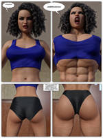 Abigail on Steroids #3 by Kycolv08