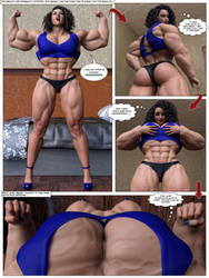 Abigail on Steroids #6 by Kycolv08