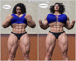 Abigail on Steroids #7 by Kycolv08