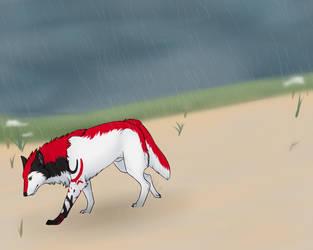 Saxon - Rainy Day by littlezombiesol