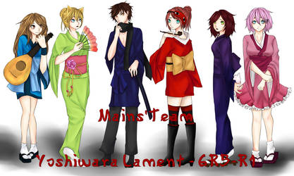 Mains'Team - Yoshiwara Lament - GRB-R1 by MllxYume