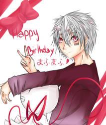 Mafumafu birthday by MllxYume