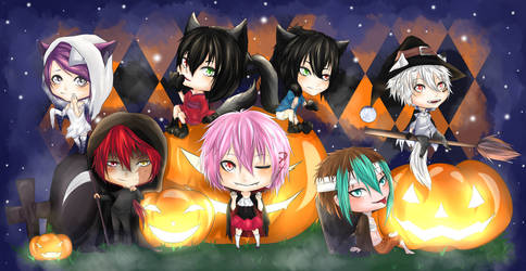 Happy Halloween 2014 by MllxYume