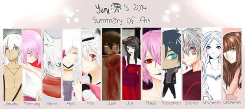 My Summary Art 2014 by MllxYume