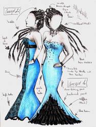 Dress concepts by vvveverka