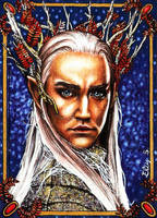 Thranduil - The Silver King by vvveverka