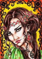 Margaery Tyrell - The Highgarden Flower by vvveverka