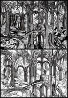 Thranduil's Throne Hall by vvveverka