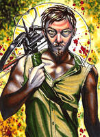 Daryl Dixon by vvveverka