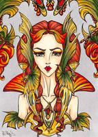 Art Nouveau Spring by vvveverka