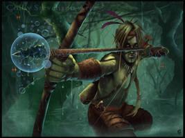Elf Hunter Archer by ColbyStevenson