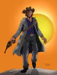 Cowboy by jamespenafiel