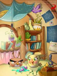 Poppy scene03 color by Liseth