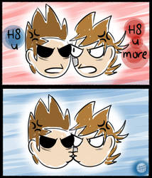 Eddsworld - Sum up of TomTord by TimelessUniverse