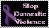Stamp Stop Domestic Violence by Sophia-Christina