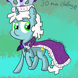 30 minutes challenge - Princess Platinum by DreamSnake