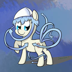 Ika Musume - Ponified by DreamSnake